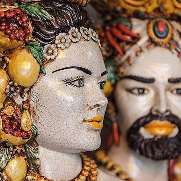 Bomboniere tipiche per il matrimonio, i mori siciliani.