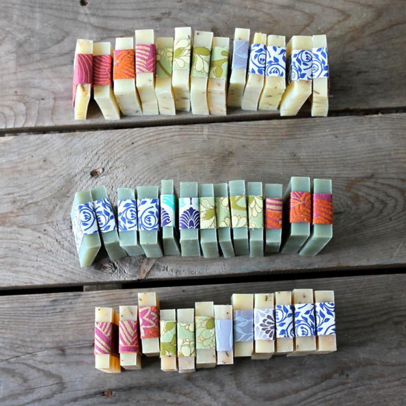 Bomboniere alternative 1: saponette colorate